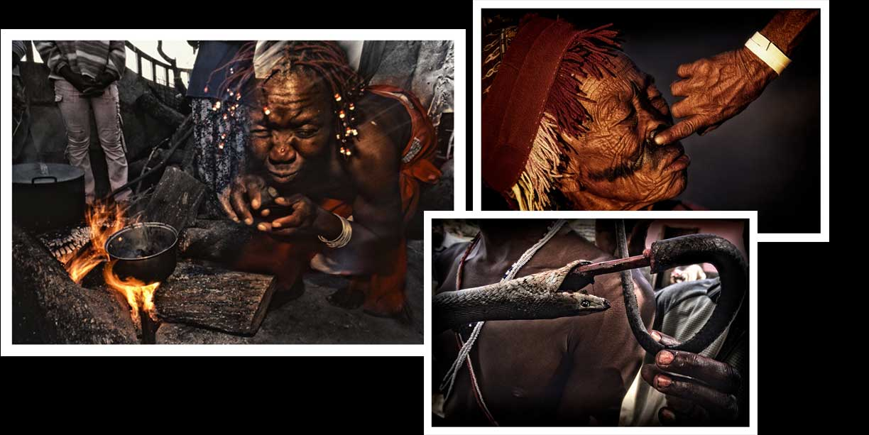 African traditional healers Sangomas Blog article